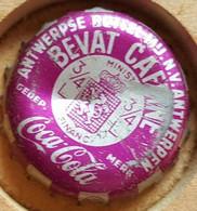 VIEILLE CAPSULE KROONKURK COCA COLA ROSE - Soda