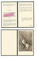 DD 310. JULES SCHEEPERS - Dokter In De Geneeskunde - °TONGEREN 1897 / +SINT-TRUIDEN 1972 - Andachtsbilder
