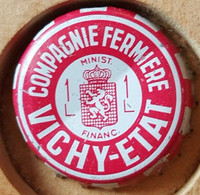 VIEILLE CAPSULE KROONKURK VICHY - ETAT ROUGE - Soda