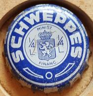 VIEILLE CAPSULE KROONKURK SCHWEPPES - Soda