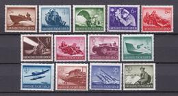 Deutsches Reich - 1944 - Michel Nr. 873/885 - Postfrisch - Ongebruikt