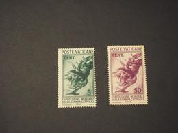 VATICANO -  1936 VOLO DI COLOMBE 5 - 50 C. (discreta Qualità) - NUOVI(++) - Unused Stamps