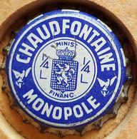 VIEILLE CAPSULE KROONKURK CHAUDFONTAINE MONOPOLE - Soda