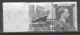 OCB Nr PU118 Reclame Pub Oostende - Dover - Centrale Stempel Ship Bateau Boot Boat - Pubblicitari