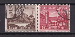 Deutsches Reich - 1939 - Michel Nr. W 144 - Gestempelt - Se-Tenant