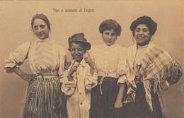 NAPOLI-TIPI E COSTUMI-CARTOLINA NON VIAGGIATA-1910-1920 - Napoli (Naples)