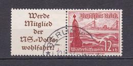 Deutsches Reich - 1937 - Michel Nr. W 127 - Gestempelt - Se-Tenant