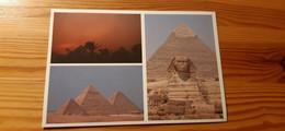 Postcard, Egypt - Giza Pyramids - Pyramids