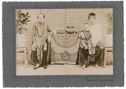 TONKIN INDOCHINE PHOTO ORIGINALE UNE FAMILLE ANAMITE - Vietnam