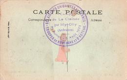 Scout Scoutisme Cachet Eclaireurs Unionistes De France Troupes De Boulogne Et Auteuil Camp De La Clainée 1923 - Scoutisme