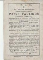 BP E.P. Timmers Leonardus (Uden 1829 - Oosterweel 1887) - Alte Papiere