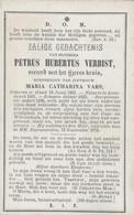 BP Verbist Petrus Hubertus (Geel 1801 - Arendonk 1873) - Alte Papiere