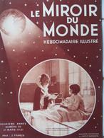 MIROIR DU MONDE N°55 (21/03/1931): LÉGION ÉTRANGÈRE A 100 ANS- CHEMIN DE FER MINIATURE- SDN- MISSION SAHARA- SÉISME YOUG - 1900 - 1949