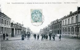 59 CPA VALENCIENNES Avenue De Saint Amand, Vue De La Croix D'Anzin - Valenciennes