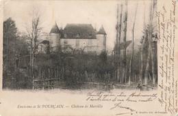 03 Environs De St Saint Pourçain Chateau De Martilly - Francia