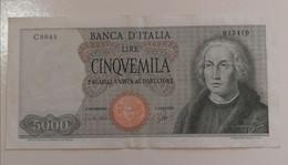 5000 Lire 1964 Colombo Caravella Carli Ripa - 5000 Lire