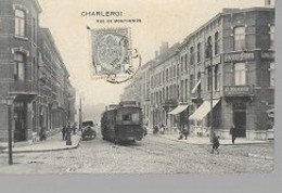 30 09/  64//    CHARLEROI  RUE DE MONTIGNIES        +         TRAM + CAFE.... - België