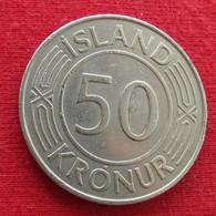 Iceland 50 Kronur 1970 KM# 19  Islandia Islande Island Ijsland - Iceland