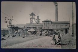 Carte Postale Ancienne-  AUCHEL  - Mines De Marles -siège N°5 Coté Nord à Auchel - Miniere