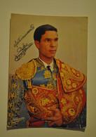 Corrida Toreador Pedro Benjamea Autographe Dedicace - Altri