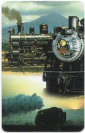 S. Africa - MTN - Locomotive Steam Trains, Steam Train #2, SC8, 2000, R15, 100.000ex, Used - South Africa