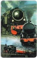 S. Africa - MTN - Locomotive Steam Trains, Steam Train #4, SC8, 2000, R15, 100.000ex, Used - South Africa