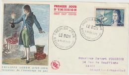FDC FRANCE N° Yvert 1012 (LE BON) Obl Sp 1er Jour (Devant De FDC) - 1950-1959