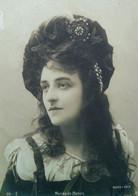 Cpa JEUNE FEMME ARTISTE WANDA DE BONZA Bijoux ART NOUVEAU , 1902 , ACTRESS WOMAN JEWELRY EARLY PC. - Women