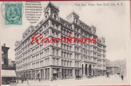 Park Avenue Hotel New York City RARE 1905 Old Postcard USA United States CPA (In Very Good Condition) - Altri