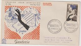 FDC FRANCE N° Yvert 1020 (GANTERIE) Obl Sp 1er Jour - 1950-1959