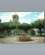 11- Aude - PORT LA NOUVELLE - Cpm - La Fontaine Du Village - Port La Nouvelle