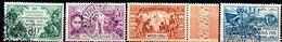 Congo: Yvert N° 109/112 - Used Stamps