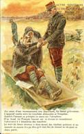 ACTES HEROIQUES LE SENATEUR AVIATEUR REYMOND L AVION TOMBE ENTRE LES TRANCHEES ALLEMANDES ET FRANCAISES - 1914-18
