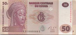 Congo : 50 Francs 2013 (UNC) - Republik Kongo (Kongo-Brazzaville)