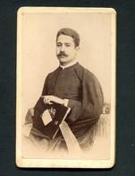 Fotografia Antiga ESTUDANTE De COIMBRA Joaquim Nunes Mexia, Natural MORA / EVORA, Futuro Ministro Agricultura PORTUGAL - Oud (voor 1900)
