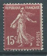 France YT N°156 Semeuse Fond Plein Neuf ** - 1906-38 Sower - Cameo