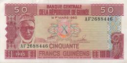 Guinée : 50 Francs 1985 UNC - Guinea