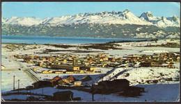 Argentina - Tarjeta Postal - T. Del Fuego - Usuahia - Vista Invernal - Circa 1960 - No Circulada - A1RR2 - Argentina