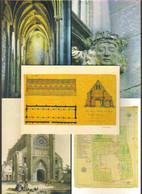 "5 Cartes Postales ""Cart'Com"" (2003) - Abbaye D'Ardenne - Saint-Germain-la-Blanche-Herbe - Advertising"