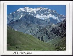 Argentina - Tarjeta Postal - Mendoza - Cerro Aconcagua - Circa 1970 - No Circulada - A1RR2 - Argentina