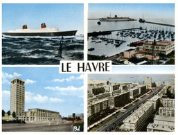 (R 35) France -  Le Havre With Paquebot France - Andere