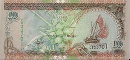 MALDIVES=1998   10  RUFIYAA     P-19     UNC - Maldiven