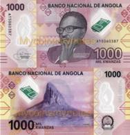 ANGOLA 1000 Kwanzas, 2020 Prefix A - Luvili Hill In Huambo, New Polymer, UNC - Angola