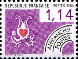 France Préo N** Yv:182 Mi:2434 Carte à Jouer Coeur - 1964-1988