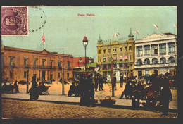 Uruguay 1912 Postcard Sent To Paris Soury Et Cie  W6-355 - Uruguay