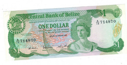 Belize 1 Dollar 1987,  AUNC. - Belize