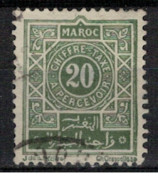 MAROC        N°  YVERT : TAXE 30         OBLITERE       (OB 9 / 27 ) - Timbres-taxe