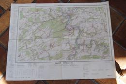 3517/TAVIER/ESNEUX-Carte Inst.Géographique Militaire - Topographical Maps