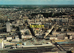 35 Rennes, Vue Sur La Gare S N C F Et L'Avenue Janvier - Rennes