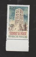 """FRANCE / 1985 / Y&T N° 2351 ** : """"Touristique"""" Abbaye De Saint-Michel De Cuxa - Pyrénées-Orientales) X 1 BdF Bas - Ungebraucht"""